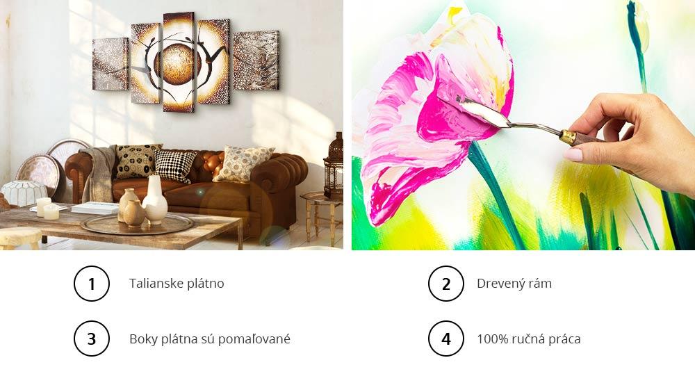 Maľované obrazy - Výhody